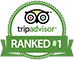 Ranked Number 1 on TripAdvisor